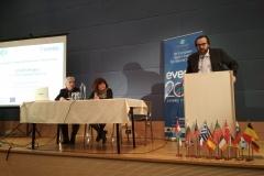 Alexandros Oikonomou, Maria Kerasoglou (EDRA President), Evangelos Kyriazopoulos